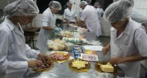 Jantar Espanhol integra os cursos de Alimentos e Secretariado