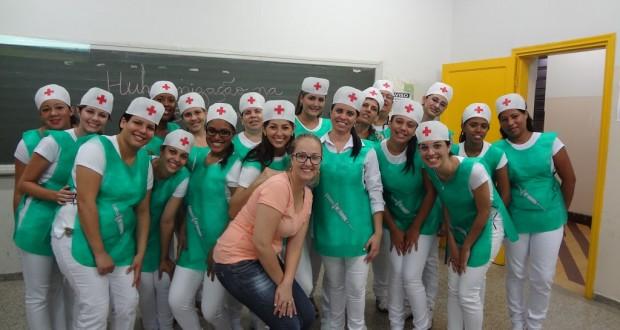Metodologias Ativas no Ensino Técnico Enfermagem – Etec Dr. José Luiz Viana Coutinho.