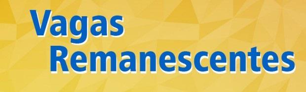 CLASSIFICAÇÃO FINAL DA SELEÇÃO ESPECIAL DE VAGAS REMANESCENTES 2º SEMESTRE 2021