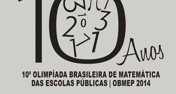 ALUNA PREMIADA NA OBMEP 2014