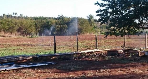 Etec Jales desenvolve parceria com empresas de irrigação