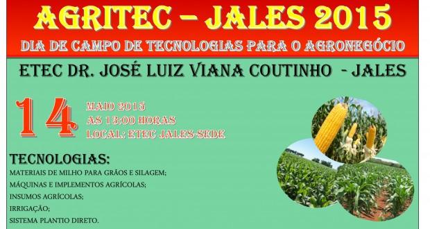 ETEC Jales realiza a AGRITEC 2015