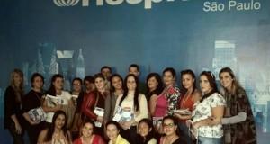 Alunos do Curso de Técnico em Enfermagem da ETEC de Jales, prestigiam Feira Hospitalar em São Paulo 2016.