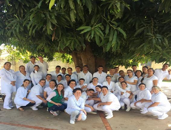 """Enfermagem faz visita Técnica ao Hospital Psiquiátrico """"Dr. Adolfo Bezerra de Menezes"""""""