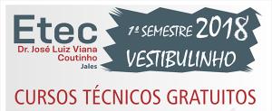 Vestibulinho 1º Semestre 2018