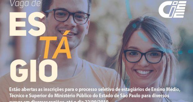 Processo Seletivo CIEE – Ministério Público Do Estado De São Paulo