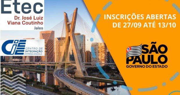 Processo Seletivo para Estágio nos Órgãos e Entidades do Governo do Estado de São Paulo