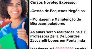Novotec Expresso 2020 em Pontalinda