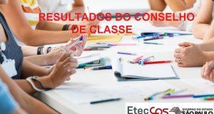 Resultados do Conselho de Classe do 2º Bimestre de 2020
