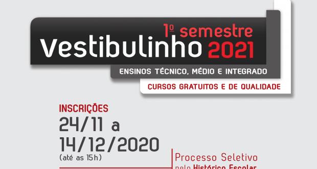 ETEC JALES abre inscrições para cursos do 1º Semestre de 2021